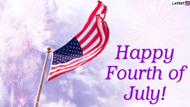 Happy Fourth of July 2020 Greetings & HD Images for Facebook: WhatsApp Stickers, Quotes, GIF Messages & SMS to Celebrate US Independence Day