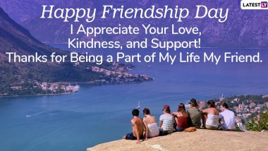 Friendship Day 2020 Wishes & HD Images: Celebrate Friends Day With WhatsApp Stickers, Facebook Photos, Greeting Cards, SMS, Quotes and Photos With Your BFFs