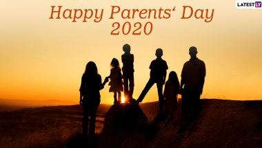 Happy Parents' Day 2020 Wishes and HD Images: WhatsApp Stickers, Family Quotes, Facebook Messages and SMS to Send Greetings of This Observance