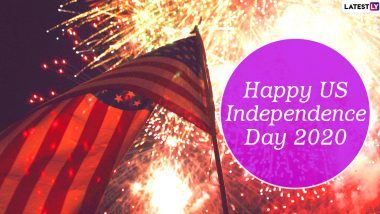 Happy US Independence Day 2020 Wishes and HD Images: WhatsApp Stickers, GIFs, Quotes and Facebook Messages to Send Greetings on Fourth of July