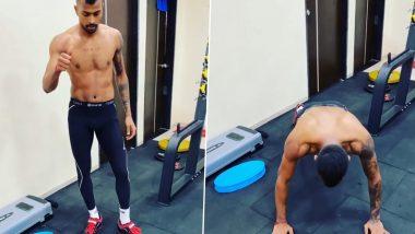 Hardik Pandya Shares Latest Workout Video After Virat Kohli Added Twist to His 'Flying Push-Up' Drill
