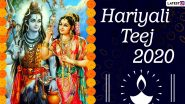 Hariyali Teej 2020 Date And Significance: Know Shubh Muhurat, Rituals And Customs Related to This Auspicious Sawan Festival