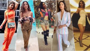 Hina Khan's Sexy Slow-Mo Walking Videos Are So Good You Can't Stop Watching Them on Loop!