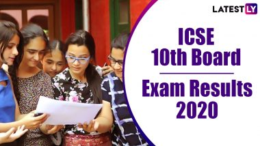 ICSE 10th Result 2020 Declared: 99.34% Pass, Check CISCE Class 10 Examination Statistics Here