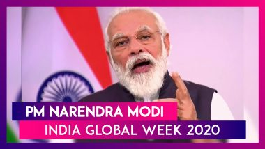 "PM Narendra Modi Calls For Global Investment, Says, ""India Is Reforming, Performing & Transforming"""