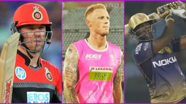 IPL 2020 Squad Updates: AB de Villiers, Ben Stokes, Andre Russell, Lasith Malinga and List of Players Who Could Miss Upcoming Season or Part of it