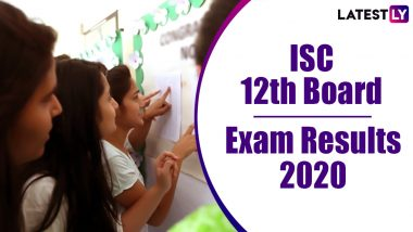 ISC 12th Result 2020 Declared: 96.84% Pass, Check Overall Statistics for CISCE Class 12 Board Exams Here