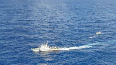 Maharashtra: Indian Coast Guard Saves 16 Crew of Sinking Cargo Ship MV Mangalam Off Raigad