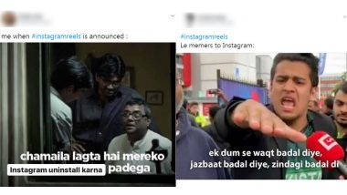 Instagram Reels Funny Memes and Jokes Trend Online After Photo-Sharing App Introduces TikTok-Like Video Making Feature in India