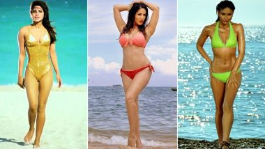 International Bikini Day 2020: From Priyanka Chopra, Sunny Leone to Kareena Kapoor Khan, All the Times B-Town Babes Sizzled in the Sexy Strings on the Silver Screen (View Pics)