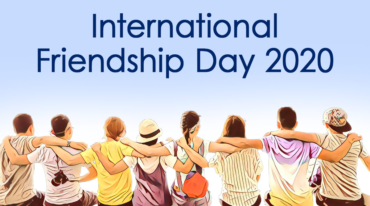 Happy World Friendship Day 2020 HD Images & Quotes For ...