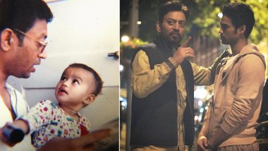 Irrfan Khan's Son Babil Shares Rare Pics of the Late Actor, Pens a Hard-Hitting Note Defining the Ills of Bollywood (View Post)
