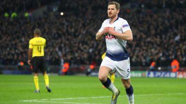 Jan Vertonghen Announces Departure from Tottenham Hotspur With an Emotional Message (View Posts)