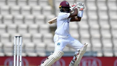England vs West Indies 1st Test 2020 Day 5: Jermaine Blackwood 50 Keeps Hosts on Course for Victory