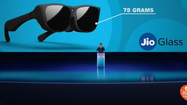 JioGlass Unveiled at RIL AGM 2020: Reliance Introduces Jio Glass to Make Digital Interactions More Real; Check Features