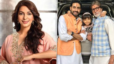 Juhi Chawla Recommends Big B & Abhishek to Try Ayurveda; Twitter Thinks She Misspelt Aaradhya