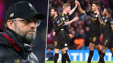 Jurgen Klopp Displeased As Manchester City's UEFA Ban Gets Overturned by CAS, Says 'Not a Good Day for Football'