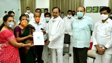 Santoshi, Wife of Galwan Martyr Colonel Santosh Babu, Appointed as Deputy Collector, Given Land by Telangana Govt