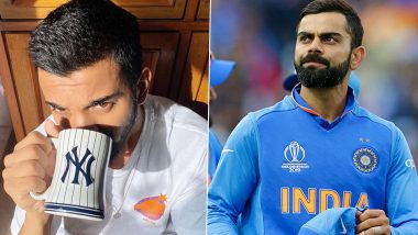 KL Rahul Comes Up With an Epic Reply After Virat Kohli Tries to Troll Him Over Coffee Post