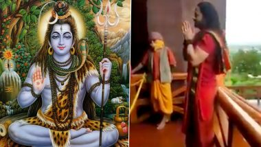 Shiv Tandav Stotram by Kalicharan Maharaj at Bhojpur Temple is Giving Netizens Goosebumps (Watch Full Video)