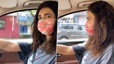 Karishma Tanna Resumes Shoot Post 4-Month Lockdown And She Can't Contain Her Excitement (Watch Video)