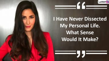 Katrina Kaif Quotes & HD Images: 9 Thought-Provoking Sayings by Bollywood Actress to Ring in Her 38th Birthday