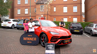Kerala Couple Based in UK Wins Lamborghini and £20,000 Cash in Dream Car Online Competition And Their Reaction is Priceless (Watch Video)