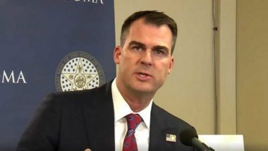 Oklahoma Governor Kevin Stitt Tests COVID-19 Positive