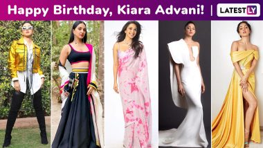 Kiara Advani Birthday Special: A Riveting Fashion Arsenal With an Ensemble for Every Mood, She Drips Minimalism and Comfort Chicness at All Times!