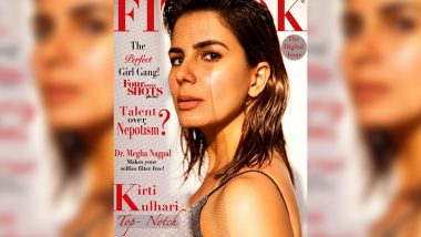 Kriti Kulhari Has That Silver Grey Style, Wet Hair Vibe Going on the Cover of Fitlook Magazine!