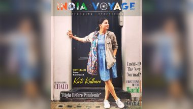 Kirti Kulhari Is Travel Chic in This Cover for India Voyage Magazine!