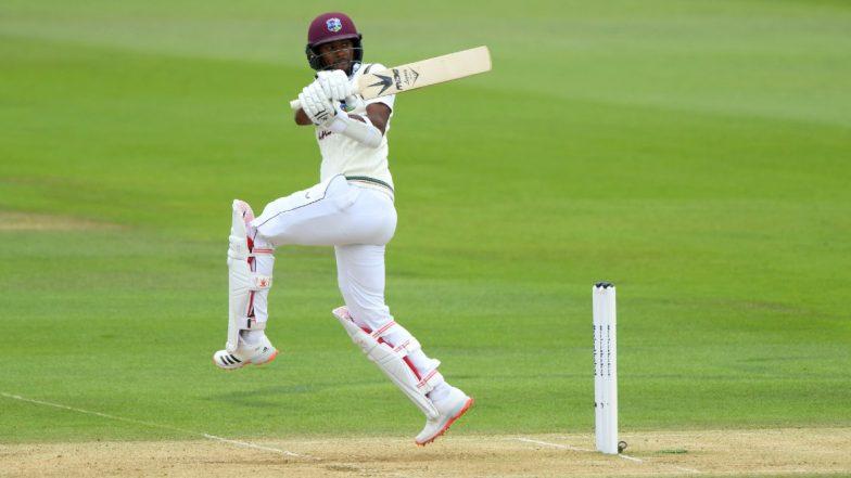 England vs West Indies 1st Test 2020 Day 3: Kraigg Brathwaite Half-Century Hands Visitors Edge at Lunch