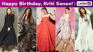 Kriti Sanon Birthday Special: Boho Chic, Classic, Playful, Her Fashion Arsenal Is an Eclectic and Beautiful Adventure!