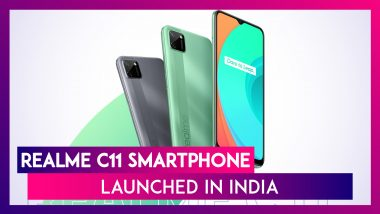 Realme C11 With A 5,000mAh Battery Launched In India; Check Prices, Variants, Features, & Specifications