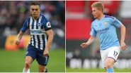 BHA vs MCI Dream11 Prediction in Premier League 2019–20: Tips to Pick Best Team for Brighton vs Manchester City Football Match