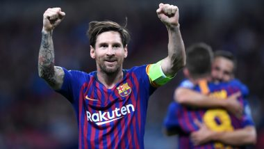 Lionel Messi Scores 700th Career Goal: As Barcelona Star Completes Yet Another Milestone, Take a Look at Each of His Landmark Strikes (Watch Video)
