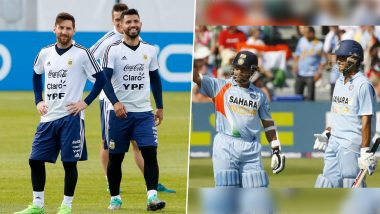 International Friendship Day 2020: From Lionel Messi-Sergio Aguero to Sachin Tendulkar-Sourav Ganguly, A Look At 5 Famous BFFs in Sports