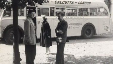 London to Calcutta by Road? Picture of 1950s Albert Travel Bus Service is Going Viral, Know Details About This Fascinating Historic Journey