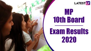 MP 10th Result 2020 Declared: 62.84% Pass, Check MPBSE Class 10 Board Exam Result Online at mpresults.nic.in