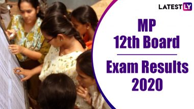 MP 12th Result 2020 Declared: Madhya Pradesh MPBSE Class 12 Board Exam Results For Science, Arts and Commerce Are Released Online at mpresults.nic.in