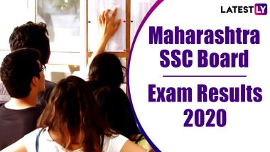 Maharashtra SSC Result 2020 Declared: Check MSBSHSE Class 10 Board Exam Results Online at mahresult.nic.in
