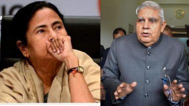 West Bengal: 'Unabated Incidents of Violence in State Will Put Humanity to Shame', Says Governor Jagdeep Dhankhar to CM Mamata Banerjee