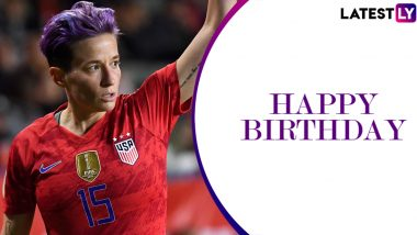 Megan Rapinoe Birthday Special: Interesting Facts About the Two-Time World Cup Winning US Footballer