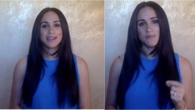 Meghan Markle's Long Hair at Virtual 2020 Girl Up Leadership Summit Gets Noticed, Duchess' Former Hairdresser Says 'She's Making a Statement'