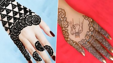 Latest Raksha Bandhan 2020 Mehndi Designs: Adorn Your Palms With DIY Arabic Henna Patterns And Easy Indian Mehandi Images This Festive Season (Watch Videos)