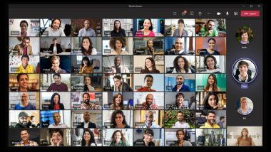 Microsoft Teams Launches Together Mode, Dynamic View & Video Filters to Make Virtual Meetings Look Real