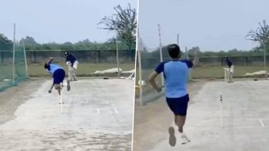Mohammed Shami Enjoys 'Quality Practice Session' at Farmhouse Amid COVID-19 Crisis (Watch Video)
