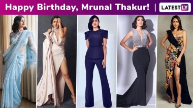 Mrunal Thakur Birthday Special: Whipping Up a Brilliant Style Storm, Versatile Chic Is Just Another Virtue of Her Fashion Arsenal!