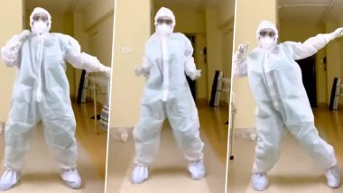 Mumbai Doctor Effortlessly Grooves in PPE Kit to 'Garmi', Gets Appreciated by Varun Dhawan and Nora Fatehi (Watch Viral Video)