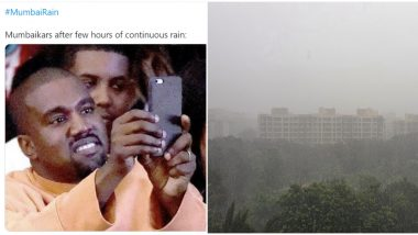Mumbai Receives Heavy Rainfall, Netizens Trend #MumbaiRain With Pics, Videos and Funny Memes to Enjoy The Weather